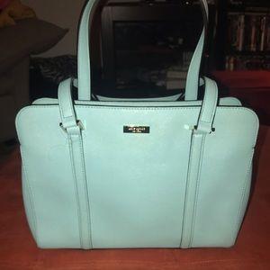 Kate Spade robin egg blue Newbury Lane purse.